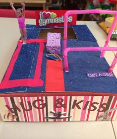 Gymnastic Valentines Day Box
