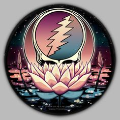 Lotus Steal Your Face - ART BY TAYLOR SWOPE & HEATHER CAULFIELD