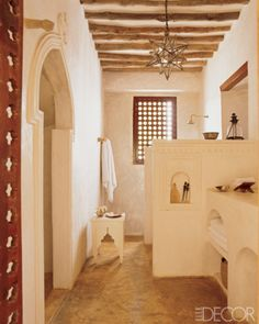 The flavours of the Maghreb for a fairy tale bathroom.