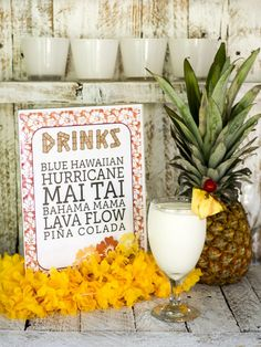8 Free Printable Surfing Signs for a Luau Party ...