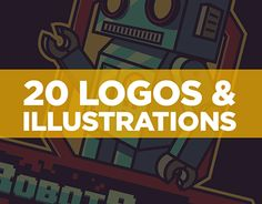 """Check out new work on my @Behance portfolio: """"20 LOGOS & ILLUSTRATIONS"""" http://be.net/gallery/55387919/20-LOGOS-ILLUSTRATIONS"""