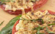Baked Cheezy Tomatoes