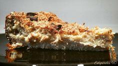 Bizcocho esponjoso de queso fresco y mandarina