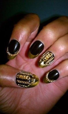 My Lady Gaga for Barney's nails