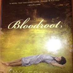 Bloodroot; all my country girls out there you have GOT to read this book. The best book I've ever read, it's about generations of a southern family, abuse pain love death the Lord forgiveness and more. So beautifully written, the perfect summer romance mystery novel can't even explain it. Read the first 10 pages and you will be hooked! Absolutely my type of book