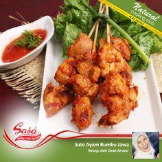 Salah satu hidangan khas nusantara yang populer, sate pasti disuka semua dikeluarga. Yuk simak kreasi ibu Dewi ini di http://on.fb.me/1eu9nhb