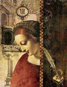 Artist Inspiration - Collage Art by Nicki Newfield | by Ozstuff1