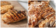 thinly sliced grilled chicken