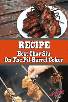 Best Char Siu Recipe On The Pit Barrel Cooker Rib Recipes, Cooker Recipes, Great Recipes, Asian Recipes, Pulled Pork Nachos, Smoked Pulled Pork, Best Char Siu Recipe, Pit Barrel Cooker, Pork Strips