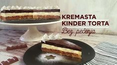 Kremasta KINDER Torta - BEZ PEČENJA - YouTube