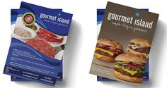 Gourmet Island Flyers - three60design Banbridge Northern Ireland - Print - Graphic Design