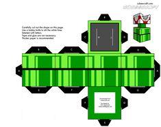Muchos Cubecraft Para Armar muy bueno