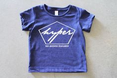 Hyper / Baby and Child Graphic Print Tshirt / Boy or by BabyTeith, $25.00