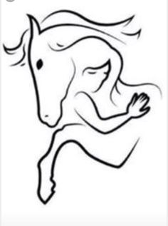 Ideas for white bird tattoo tatoo Bild Tattoos, Cute Tattoos, Tatoos, Horse Tattoos, Horse Drawings, Art Drawings, Music Drawings, White Bird Tattoos, Et Tattoo