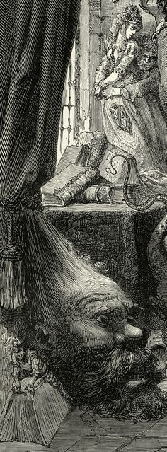 Gustave Doré. Don Quijote de la Mancha. 1863. Magic Transistor on Tumblr