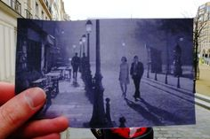 Midnight in Paris - movie location picture - place dauphine