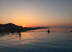 Mykonos, Greece, Villa, Outdoors, Spaces, Celestial, Sunset, Greece Country, Sunsets