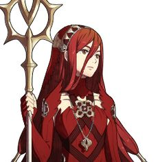 Fire Emblem Fates - Azura in Red << I like it, but it's a little too red compared to the blue AND white combo. should be red and black or something.