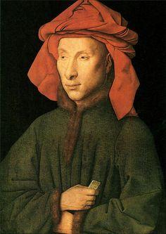 [ E ] Jan van Eyck - Portrait of Giovanni Arnolfini (1435) by Cea., via Flickr