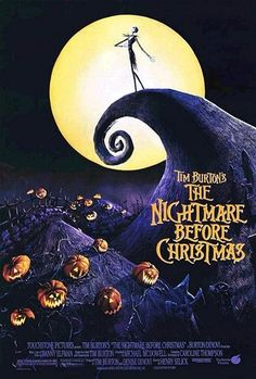 The Nightmare Before Christmas (1993) directed by Henry Selick This is a movie that i enjoy to watch every year when Halloween starts! :)