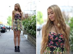 #floral #print #fashion #spring #london #topshop