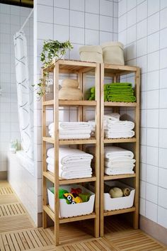 3 ideas for towel storage in small bathroom