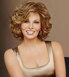 Raquel Welch Embrace Synthetic wigs are just one of our wigs from our wide selection take advantage of our instant discounts on wigs by Raquel Welch. Curly Hair Cuts, Short Curly Hair, Short Hair Cuts, Curly Hair Styles, Thin Hair, Frontal Hairstyles, Hairstyles With Bangs, Layered Hairstyles, Raquel Welch Wigs