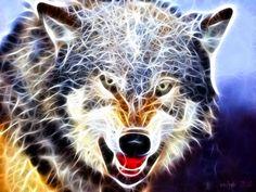 fractal art animals - Google Search