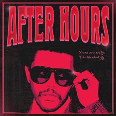 The Weeknd - After Hours Bedroom Wall Collage, Photo Wall Collage, Picture Wall, Room Posters, Poster Wall, Poster Prints, Cool Album Covers, Music Album Covers, The Weeknd Album Cover