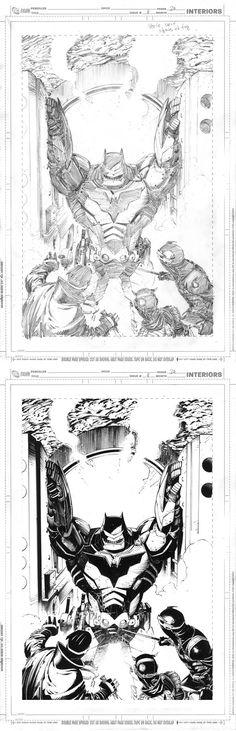 Batman #8 Pg20 (*pencil & ink) | Greg Capullo