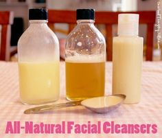 How to Make Your Own Homemade Facial Cleansers. This homemade facial cleansers for sensitive skin are not only inexpensive but also environment-friendly.