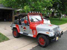 The fancy cars can wait. The first set of wheels you need to get is an authentic Jurassic Park utility Jeep. | 32 Things You'd Definitely Buy If You Ever Won The Lottery