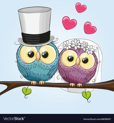 Find Owl Bride Owl Groom On Branch stock images in HD and millions of other royalty-free stock photos, illustrations and vectors in the Shutterstock collection. Thousands of new, high-quality pictures added every day. Owl Cartoon, Cute Cartoon, Keep Calm Wedding, Ivana, Owl Moon, Funny Owls, Owl Vector, Photographer Portfolio, Owl Art