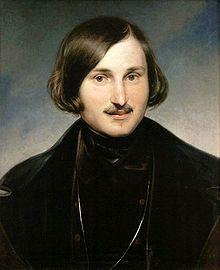 Russian author Nikolai Gogol