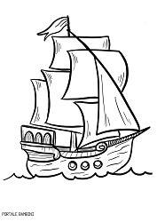 Disegni di Barche, Barchette e Navi da Colorare | Portale Bambini Navi, Word Games, Coloring Pages, Ship, Christmas, Candle, Silhouettes, Quote Coloring Pages, Xmas