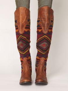 bohemian fashion freebird by steven caballero tall boot black