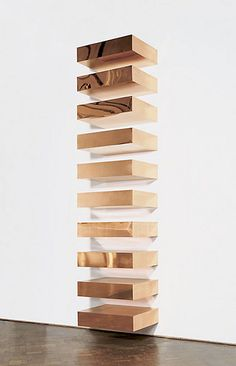 at the gallery | american sculptor, painter writer donald judd