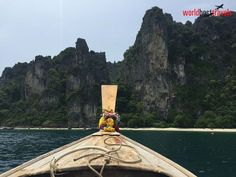 """One of the famous tourist activities from Krabi Town or Phuket is the Express Ferry ride to Phi Phi Islands.  Made famous by the movie """"The Beach"""" starring Leonardo DiCaprio in, Phi Phi Islands with its amazing location by the Andaman Sea, is an idyllic tropical getaway! Book your Thailand beach vacation here: http://worldbesttravels.com/Home/Index   Make An Enquiry on :- +44-0208-133-0907   http://worldbesttravels.com/"""