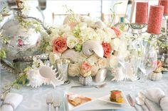 Sea shell wedding ideas~