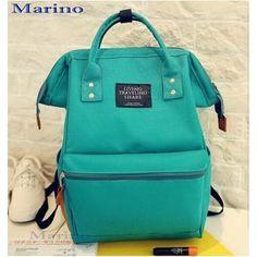 40fc01304b21 Marino กระเป๋า กระเป๋าเป้ กระเป๋าสะพายหลัง Backpack No.2015 - Green