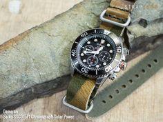 #MiLTAT Grezzo SQ Zulu watch strap