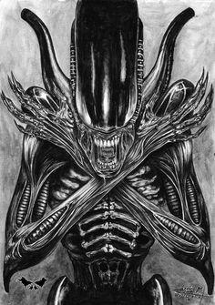 I admire its purity Alien Convenant, Giger Alien, Alien Art, Predator Movie, Predator Alien, Predator Series, Giger Art, Hr Giger, Les Aliens