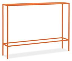 Slim console table from Room and Board