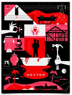 I <3 Dexter. And this poster.