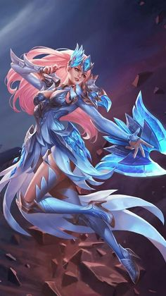 Arena of Valor Fan Art Part 3 Anime Sexy, Fantasy Images, Fantasy Artwork, Game Character Design, Character Art, Fantasy Characters, Female Characters, Alucard Mobile Legends, Mobile Legend Wallpaper