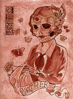 Image detail for -kaleidoscope of beauty: día de los muertos