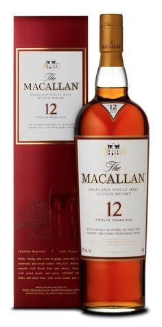 The Macallan Whisky Sherry Oak 12 Jahre 0,7 Liter