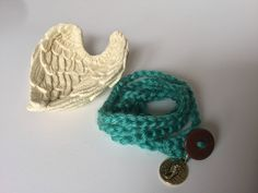 A personal favorite from my Etsy shop https://www.etsy.com/ca/listing/531433779/crochet-seahorse-charm-bracelet