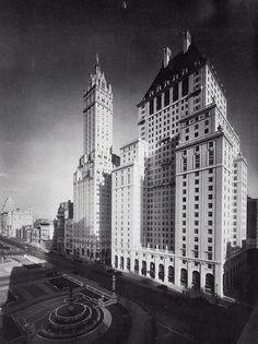 Savoy Plaza Hotel (1927-1964) NYC