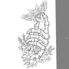make it a butterfly #TattooIdeasDibujos